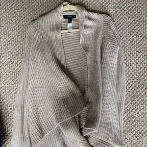 Tan Forever 21 Cardigan/Sweater M